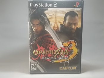 Onimusha 3 Demon Siege Front