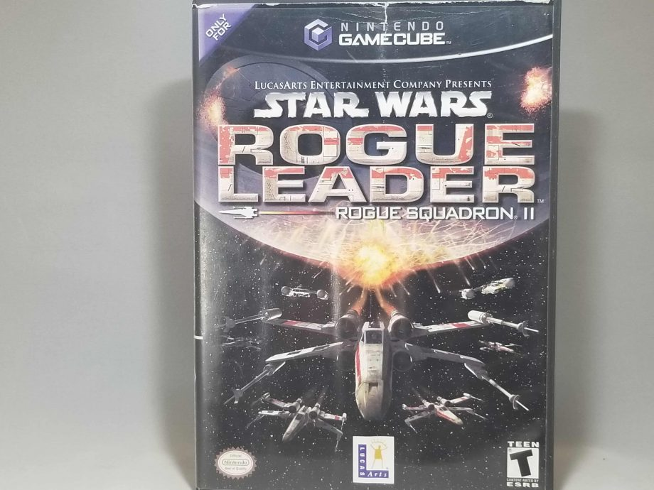 Star Wars Rogue Leader Rouge Squadron II Front
