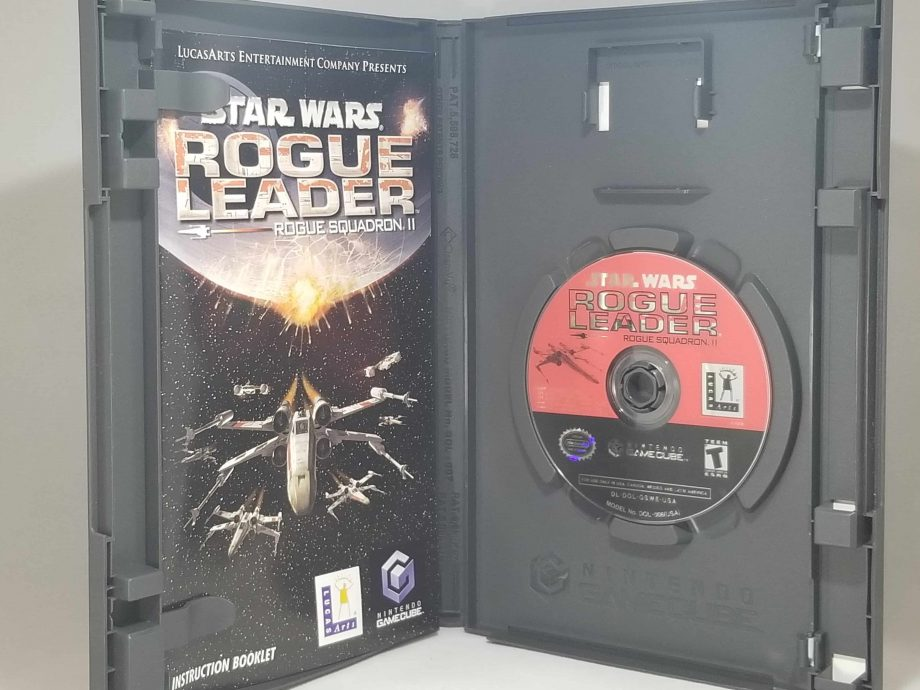 Star Wars Rogue Leader Rouge Squadron II Disc
