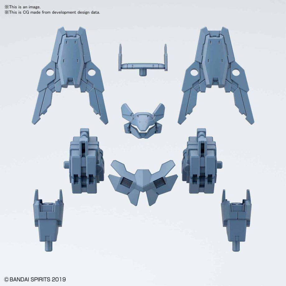 Cielnova Option Armor For Commander Blue Gray Pose 4