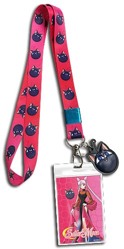 Sailor Moon R Luna-P Lanyard