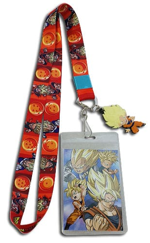 SD Super Saiyan Family Lanyard