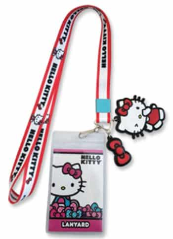 Hello Kitty Bow Lanyard