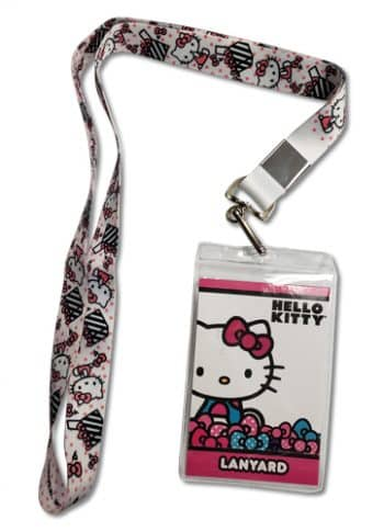Hello Kitty Present Lanyard