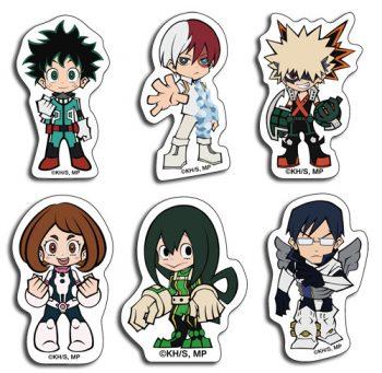 My Hero Academia Group Sticker Set