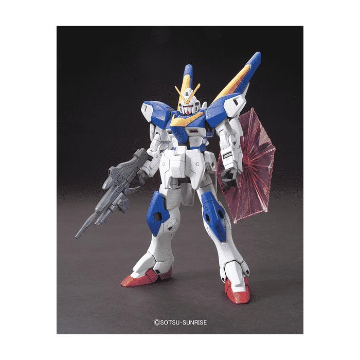 High Grade Victory 2 Gundam Pose 1