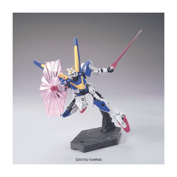 High Grade Victory 2 Gundam Pose 3