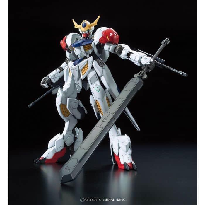 Full Mechanics 1/100 Gundam Barbatos Lupus Pose 1
