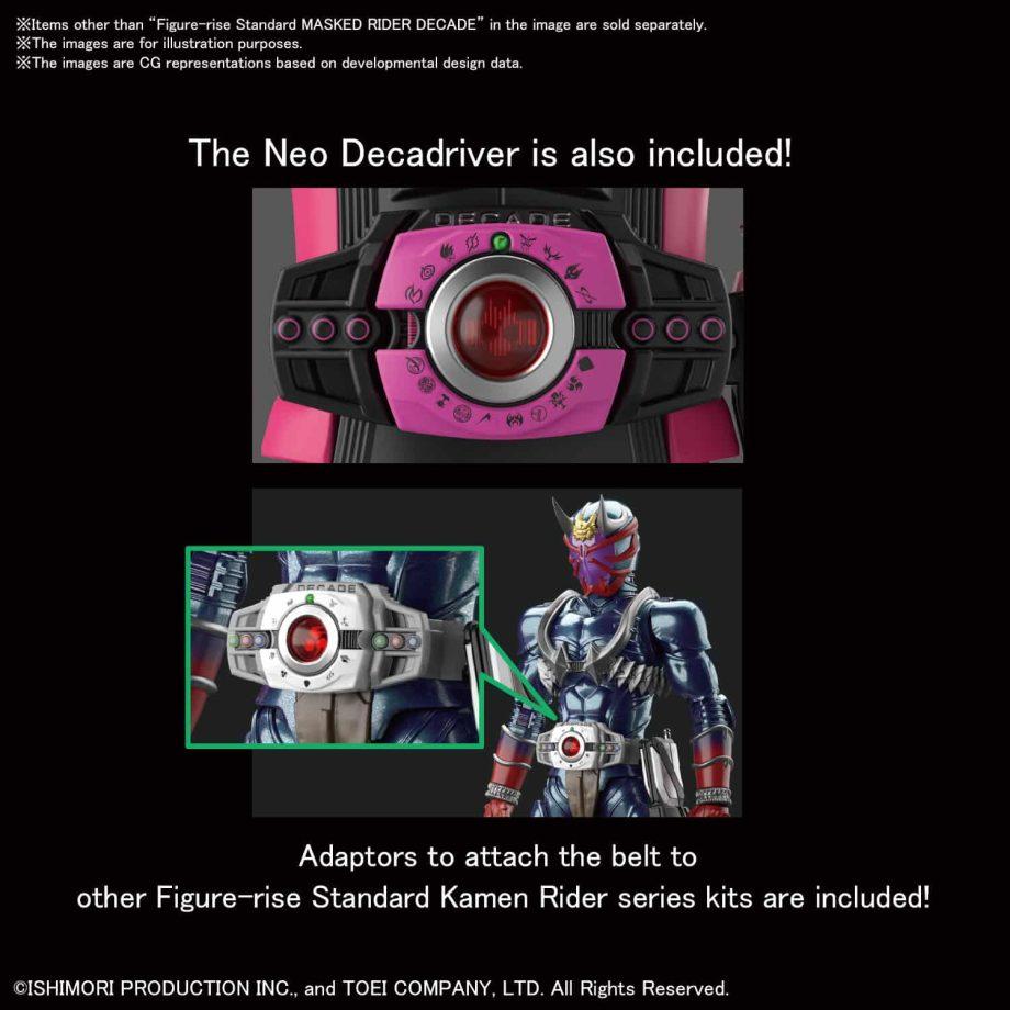 Masked Rider Decade Figure Rise Standard Pose 7