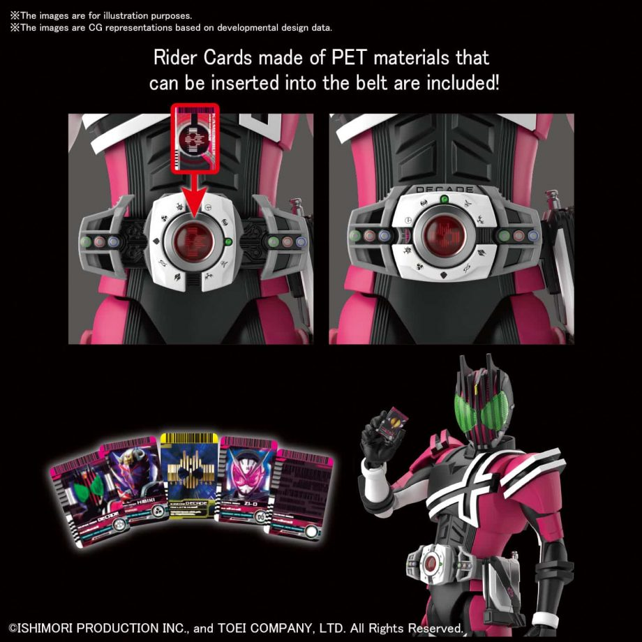 Masked Rider Decade Figure Rise Standard Pose 6