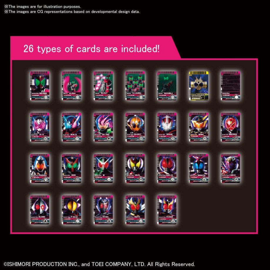 Masked Rider Decade Figure Rise Standard Pose 5