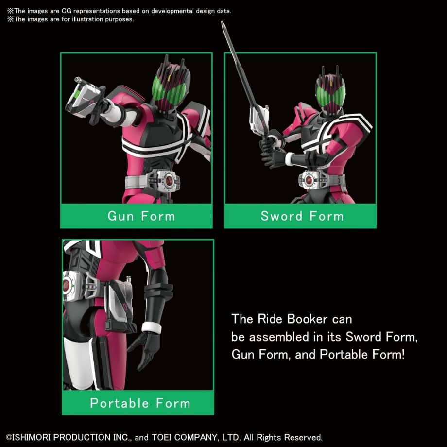Masked Rider Decade Figure Rise Standard Pose 3