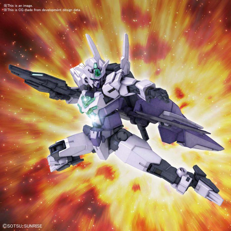 1/144 High Grade Core Gundam II G3 Colors Pose 1