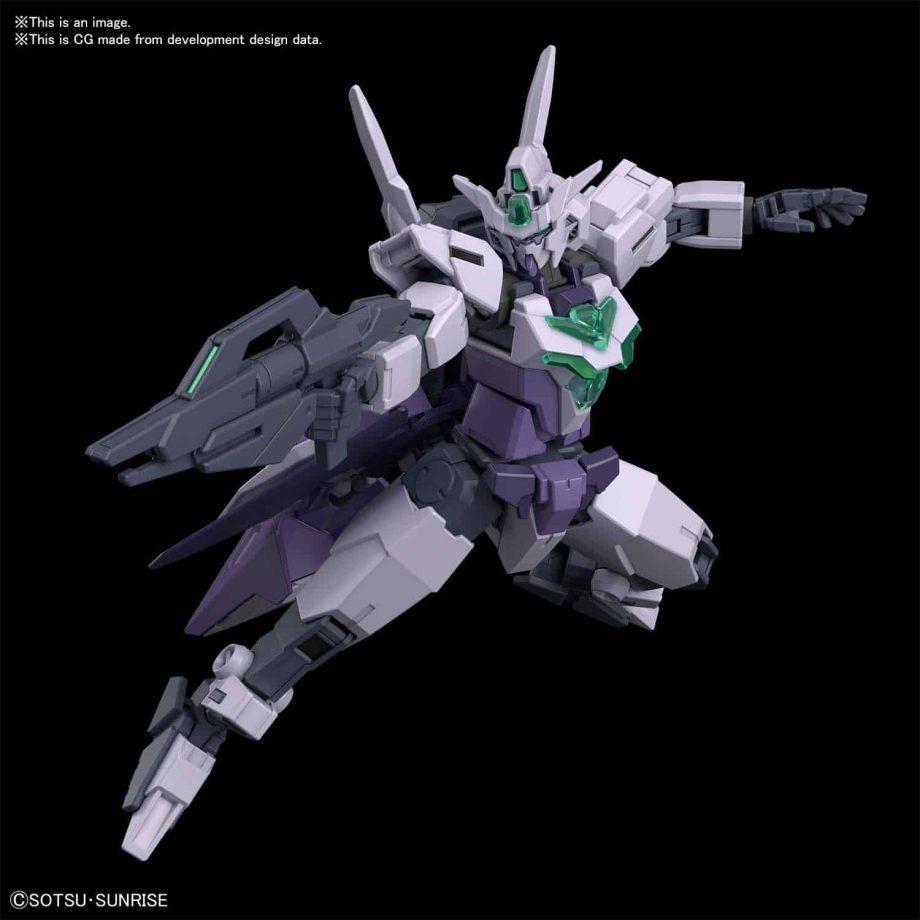 1/144 High Grade Core Gundam II G3 Colors Pose 3