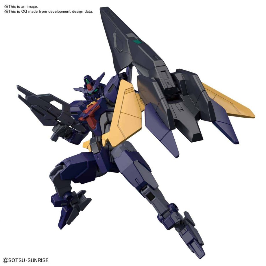 High Grade Core Gundam II Titans Colors Pose 3