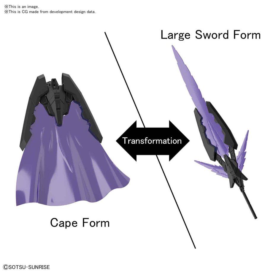 1/144 High Grade Try Slash Blade Pose 2