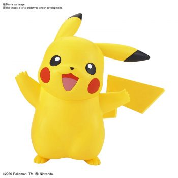 Pokemon Model Kit Quick!! Pikachu Pose 1