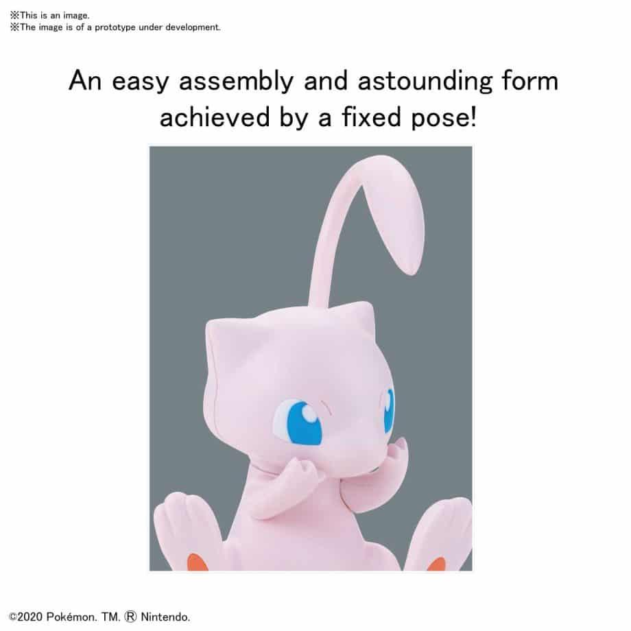 Pokemon Model Kit Quick!! Mew Pose 3