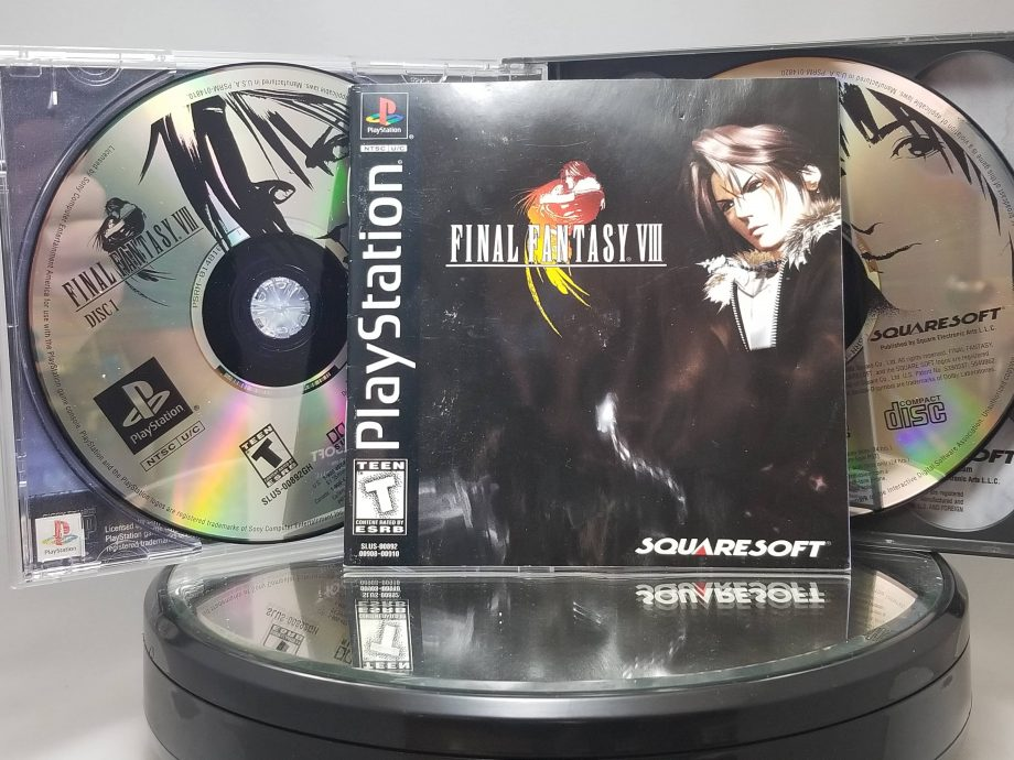 Final Fantasy VIII Disc 1 and 2