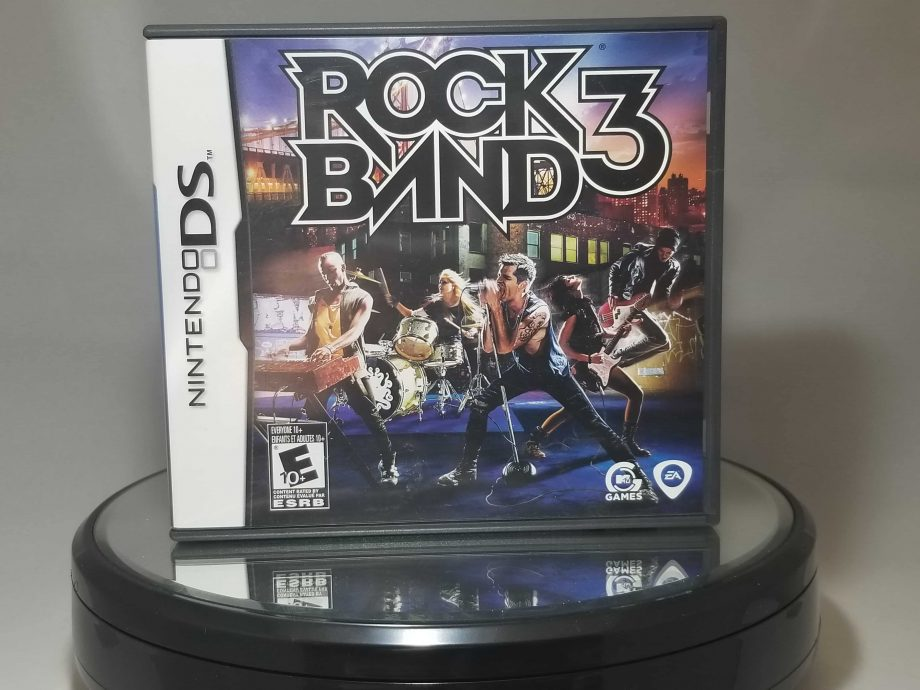 Rock Band 3 Front