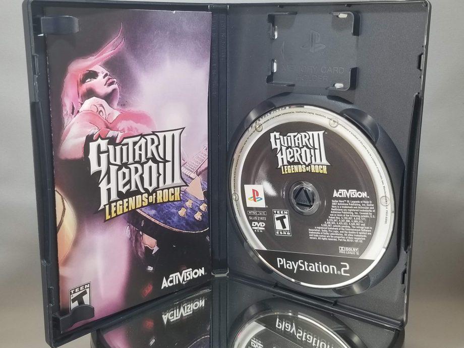 Guitar Hero III Legends Of Rock Disc