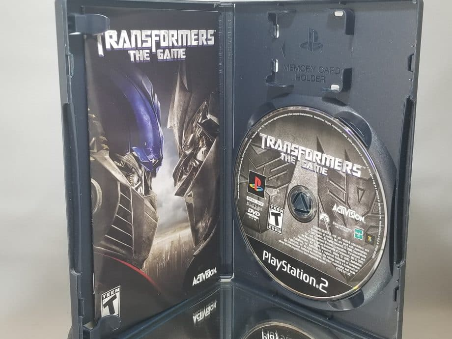 Transformers The Game Disc
