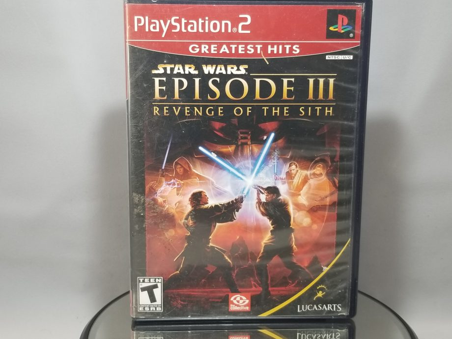 Star Wars Episode III Revenge Of The Sith Front