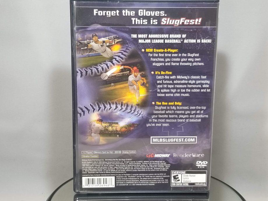MLB Slugfest 2006 Back