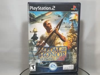 Medal Of Honor Rising Sun Front