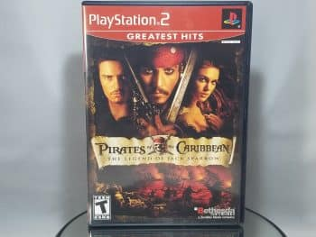 Pirates Of The Caribbean The Legend Of Jack Sparrow Front