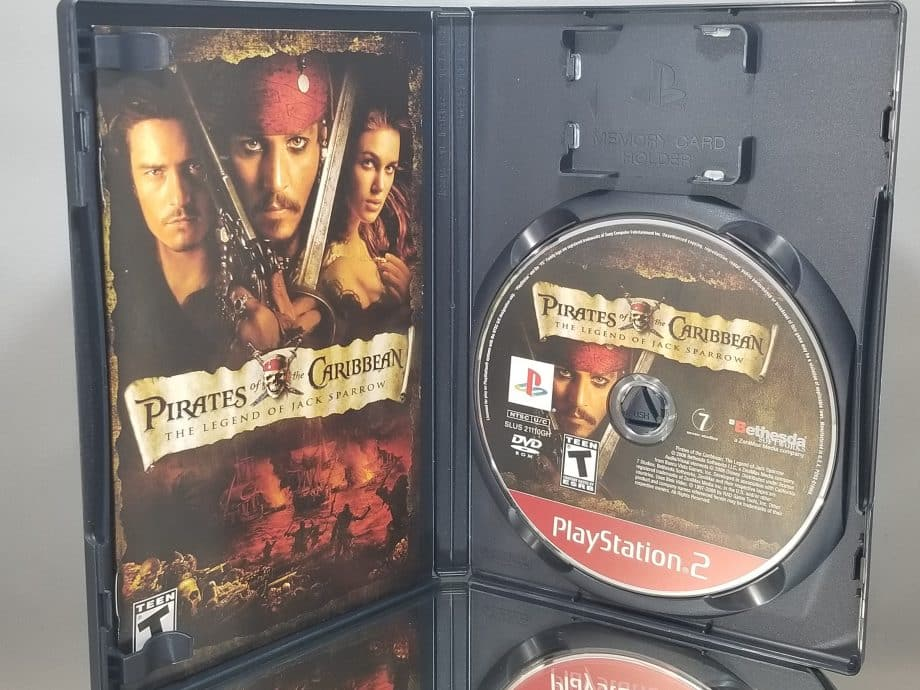 Pirates Of The Caribbean The Legend Of Jack Sparrow Disc