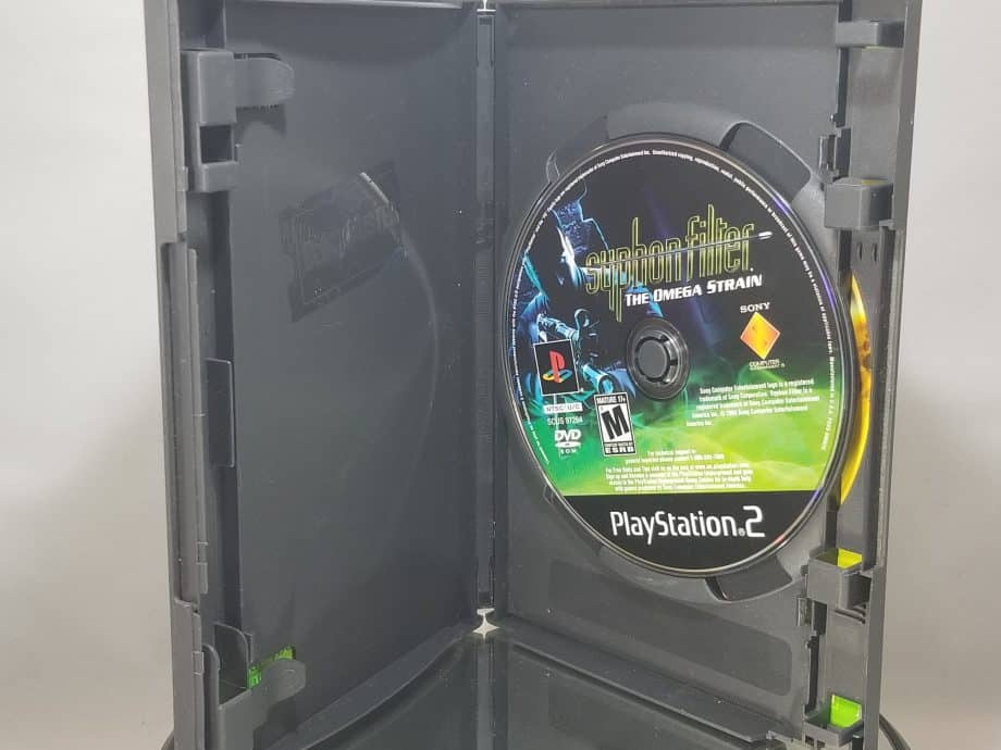 Syphon Filter The Omega Strain Disc