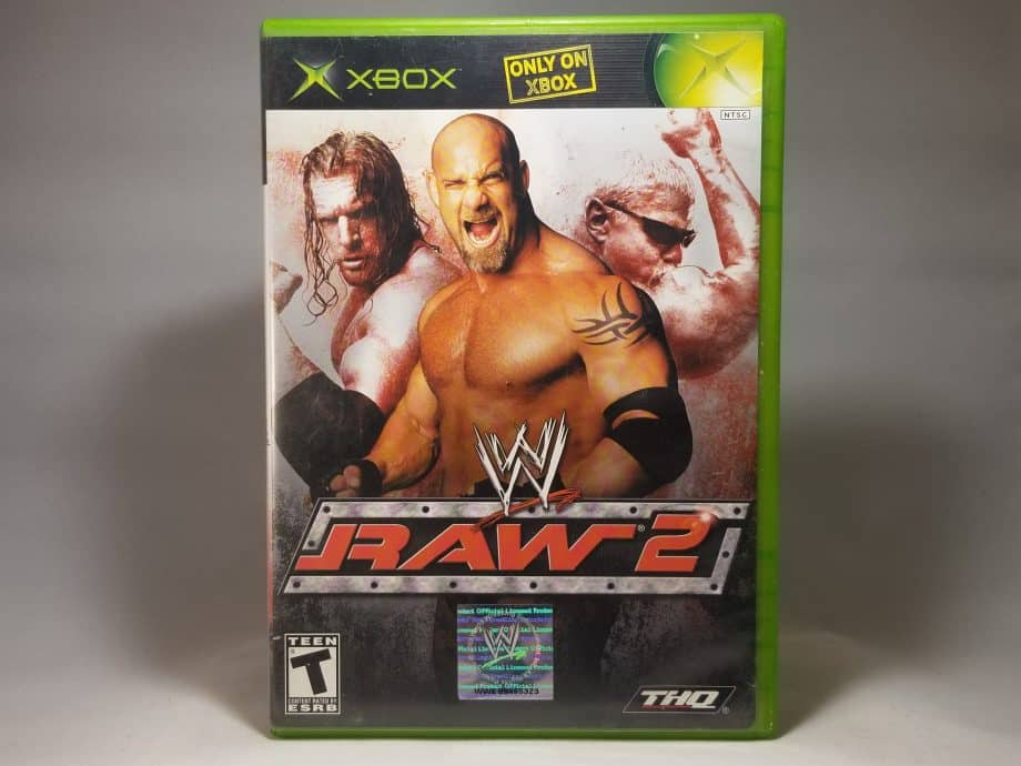 WWE Raw 2 Ruthless Aggression Front