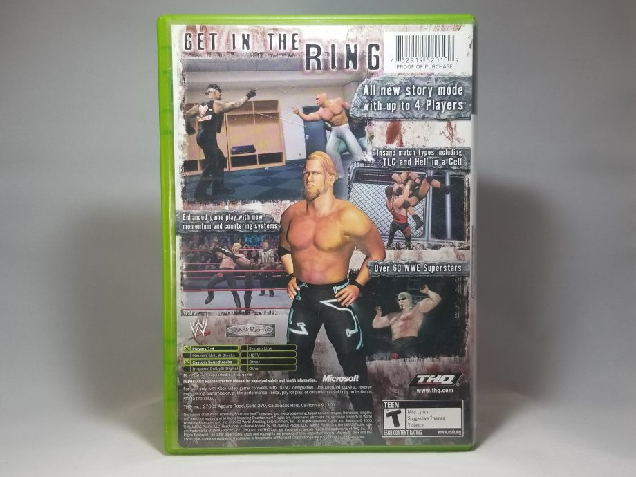 WWE Raw 2 Ruthless Aggression Back