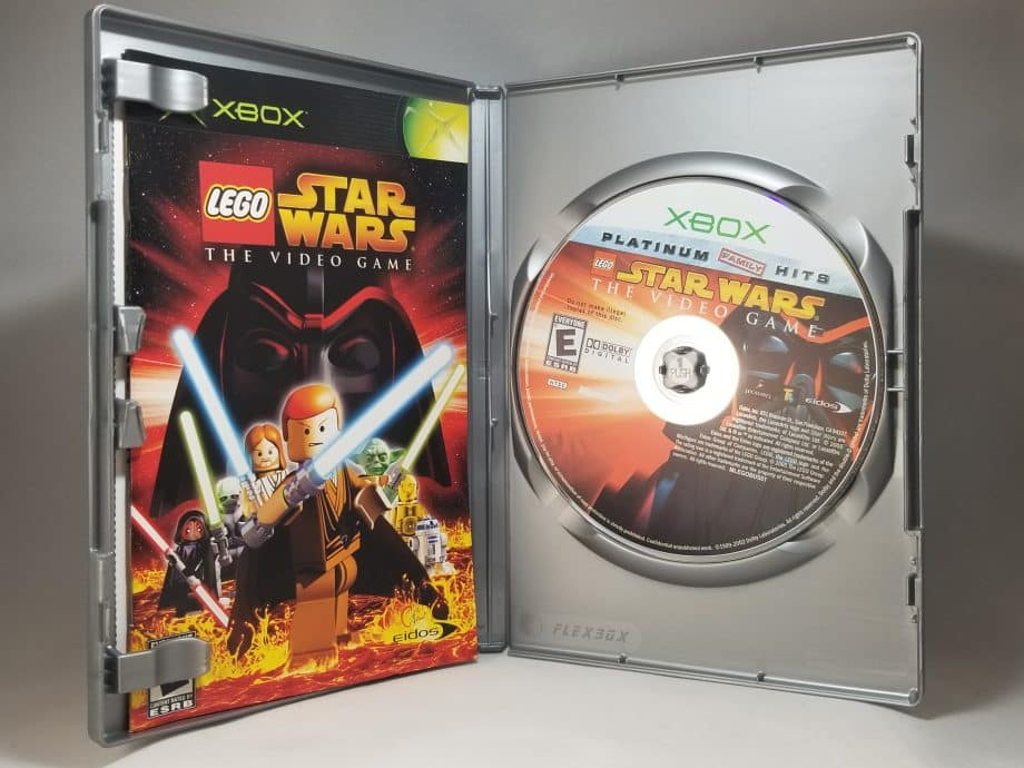 Lego Star Wars The Video Game Disc