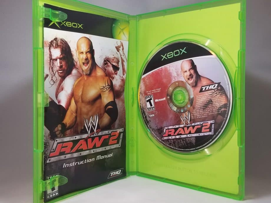 WWE Raw 2 Ruthless Aggression DIsc