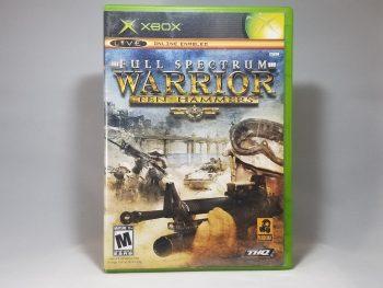 Full Spectrum Warrior Ten Hammers Front