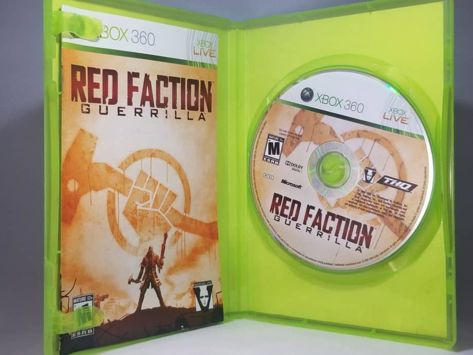 Red Faction Guerrilla Disc