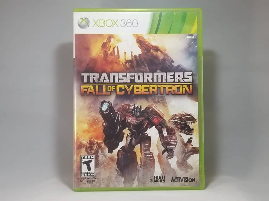 Transformers Fall Of Cybertron Front