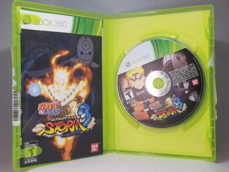 Naruto Shippuden Ultimate Ninja Storm 3 Disc