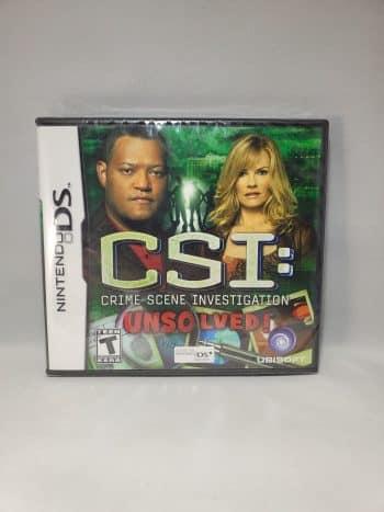 CSI Crime Scene Investigation Unsolved