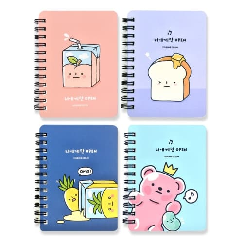 Convenience Store Double Left-bound Notepad