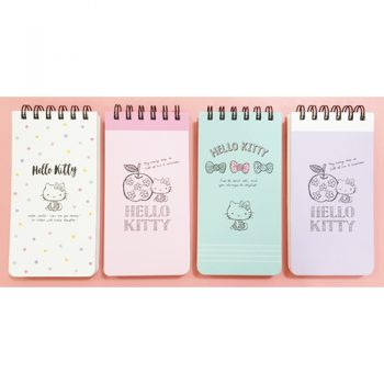 Hello Kitty Top Bound Notepad