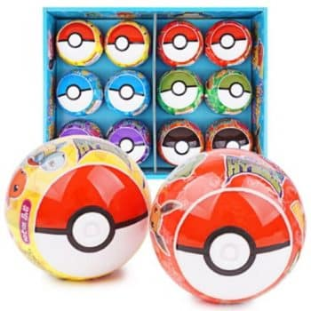 Pokemon Pokeball Ash's Friends Blind Box
