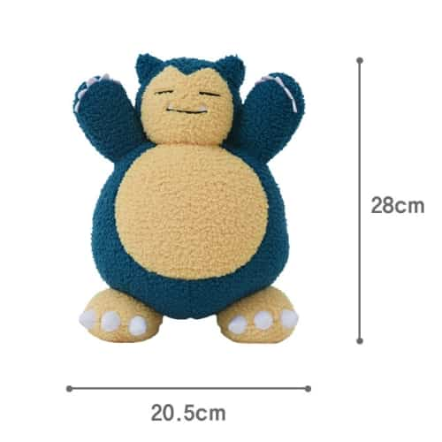 Snorlax Curly Plush