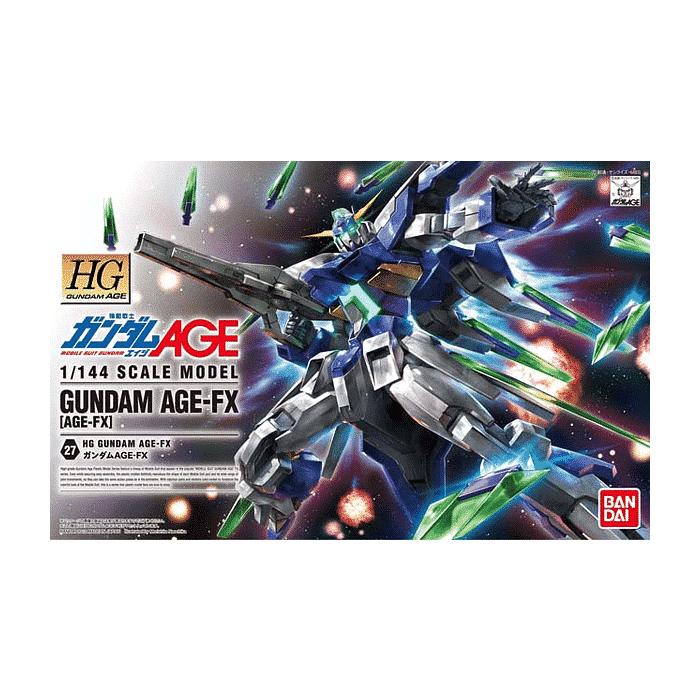High Grade Gundam Age FX Box