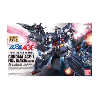 Gundam Age 1 Full Glansa Box