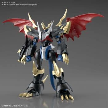 Imperialdramon Amplified Figure Rise Kit Pose 1