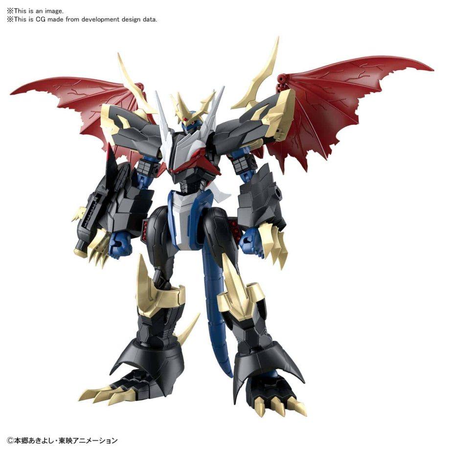 Imperialdramon Amplified Figure Rise Kit Pose 2