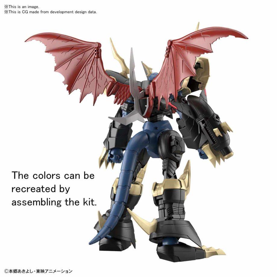 Imperialdramon Amplified Figure Rise Kit Pose 3
